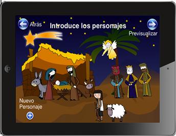Aplicación de Belén de Navidad